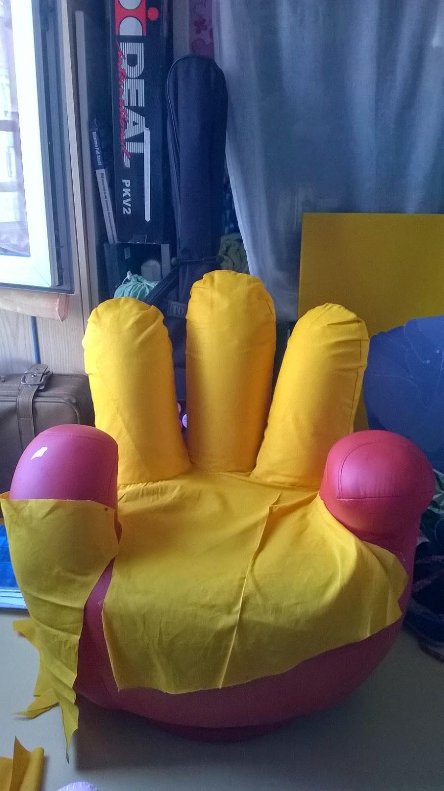 Rayu ekeige bis r novation une housse jaune d 39 or pour un fauteui - Housse fauteuil main ...