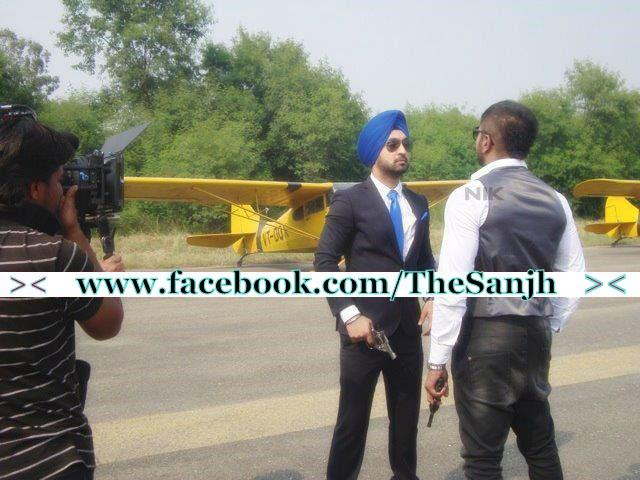 Diljit Dosanjh And Honey Singh Diljit Comes with honey singh