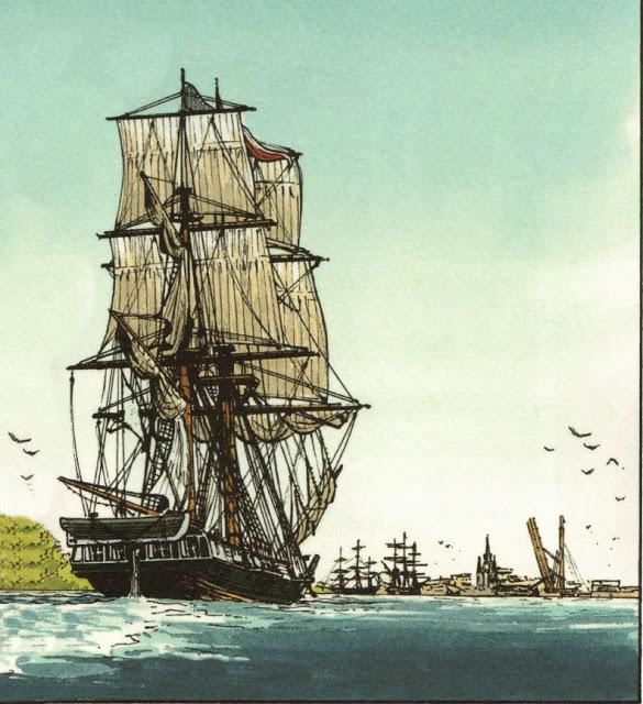 Sélection des BD sur les bateaux 01 - 05