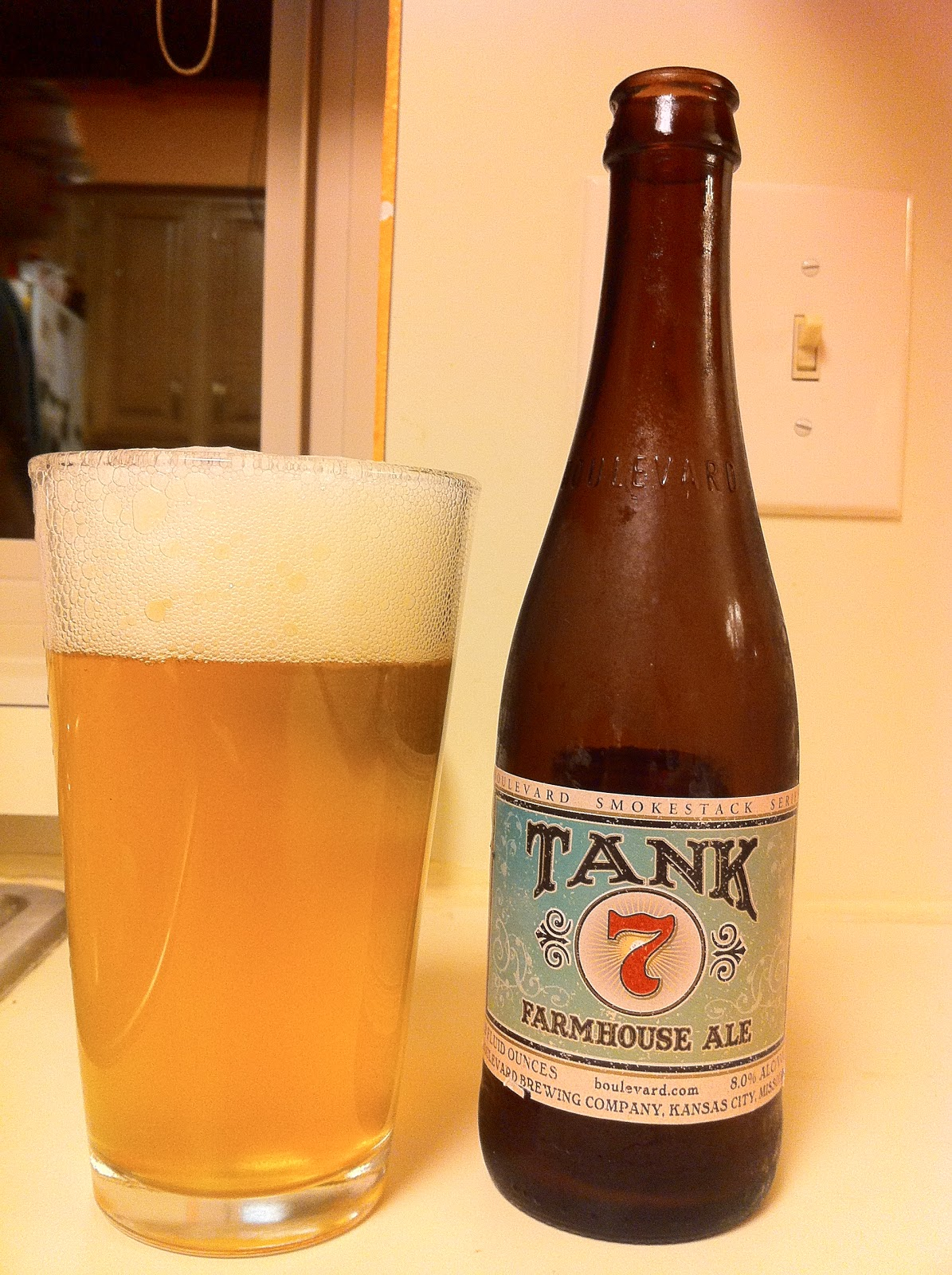 Wisconsin Beer Geek Tank 7 Farmhouse Ale – Boulevard Brewing pany