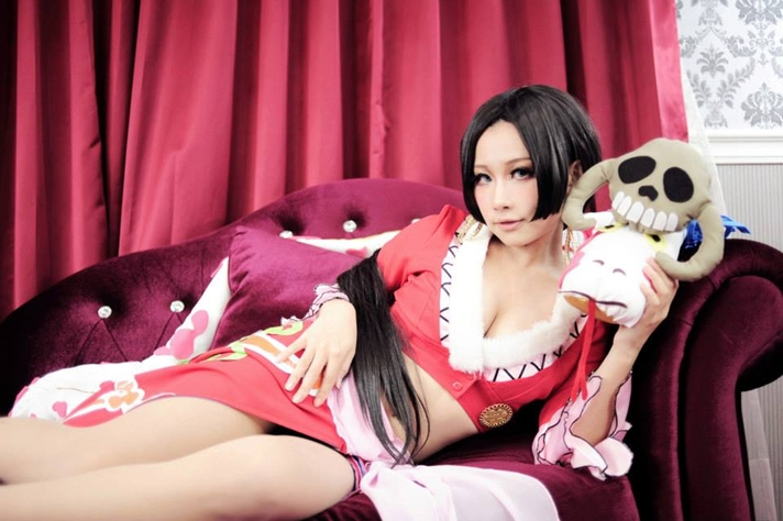 piece boa hancock Sexy cosplay one