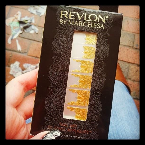 Revlon by Marchesa 3D Jewel Appliques Crown Jewels