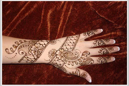 Pakistan Cricket Player: Arabic Henna Design Pictures