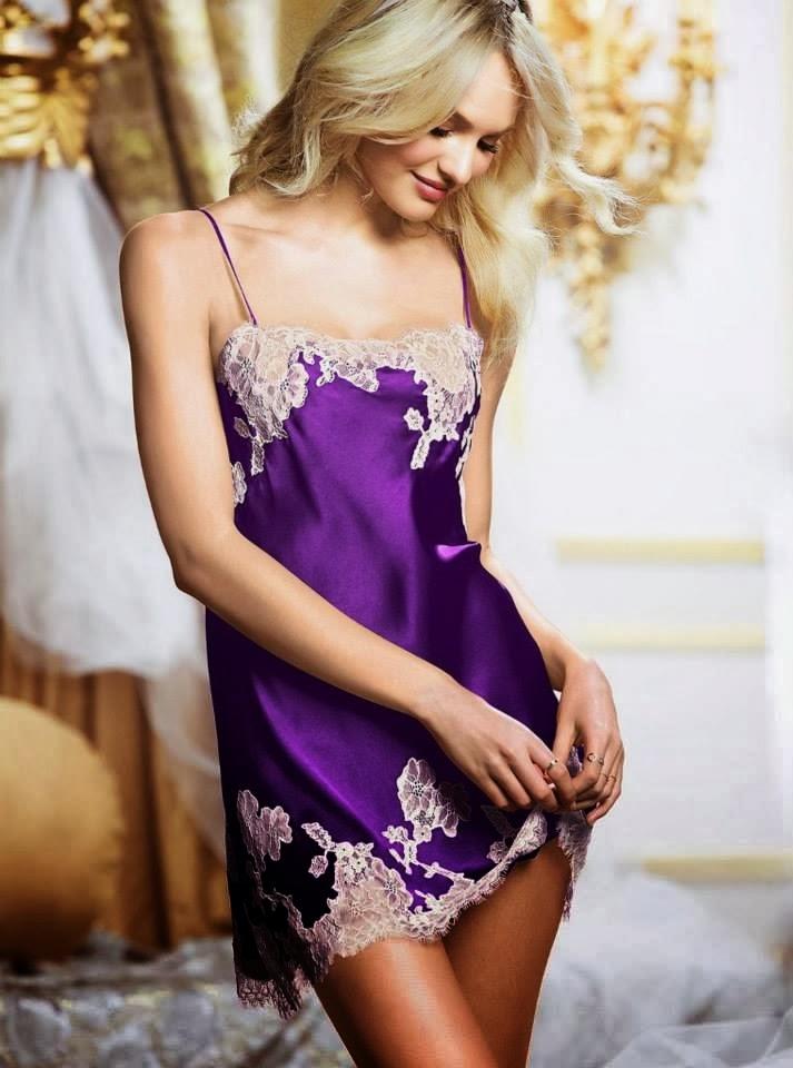 Candice Swanepoel for Victoria's Secret sleepwear ...