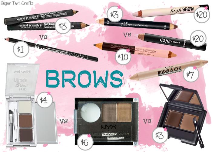 My favorite affordable eyebrow makeup