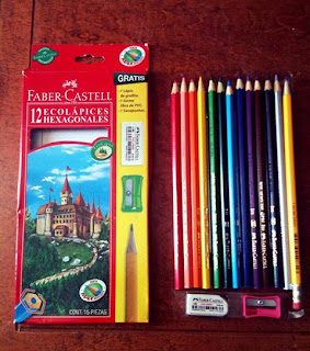 Panda draws minireview colores faber castell scholar for Que son los comedores escolares