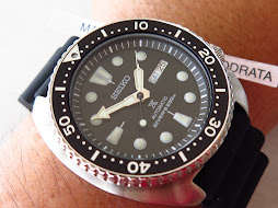 SEIKO DIVER NEW TURTLE - SEIKO DIVER SRP777 - BLACK DIAL - RUBBER STRAP - AUTOMATIC 4R36