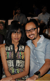 Fayeza Ansari with Nomi Ansari PFDC Sunsilk Fashion Week 2011   Red Carpet DAY 1 & 2