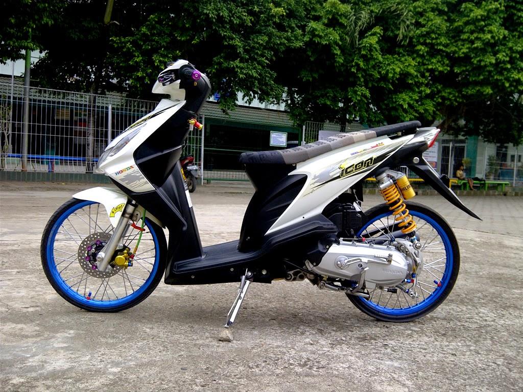 107 Modif Jok Honda Beat Fi Modifikasi Motor Terbaru Karpet Street Dunia Koleksi Matic Terlengkap