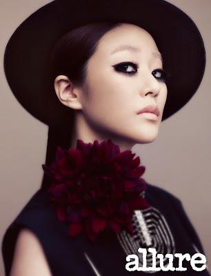 Kim Hyo Jin Allure Magazine August 2013