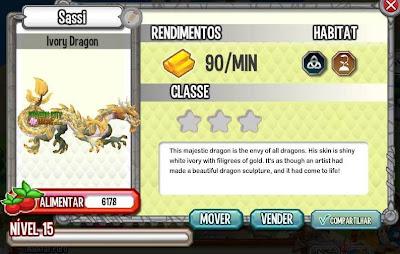 Dragão Marfim - Informações