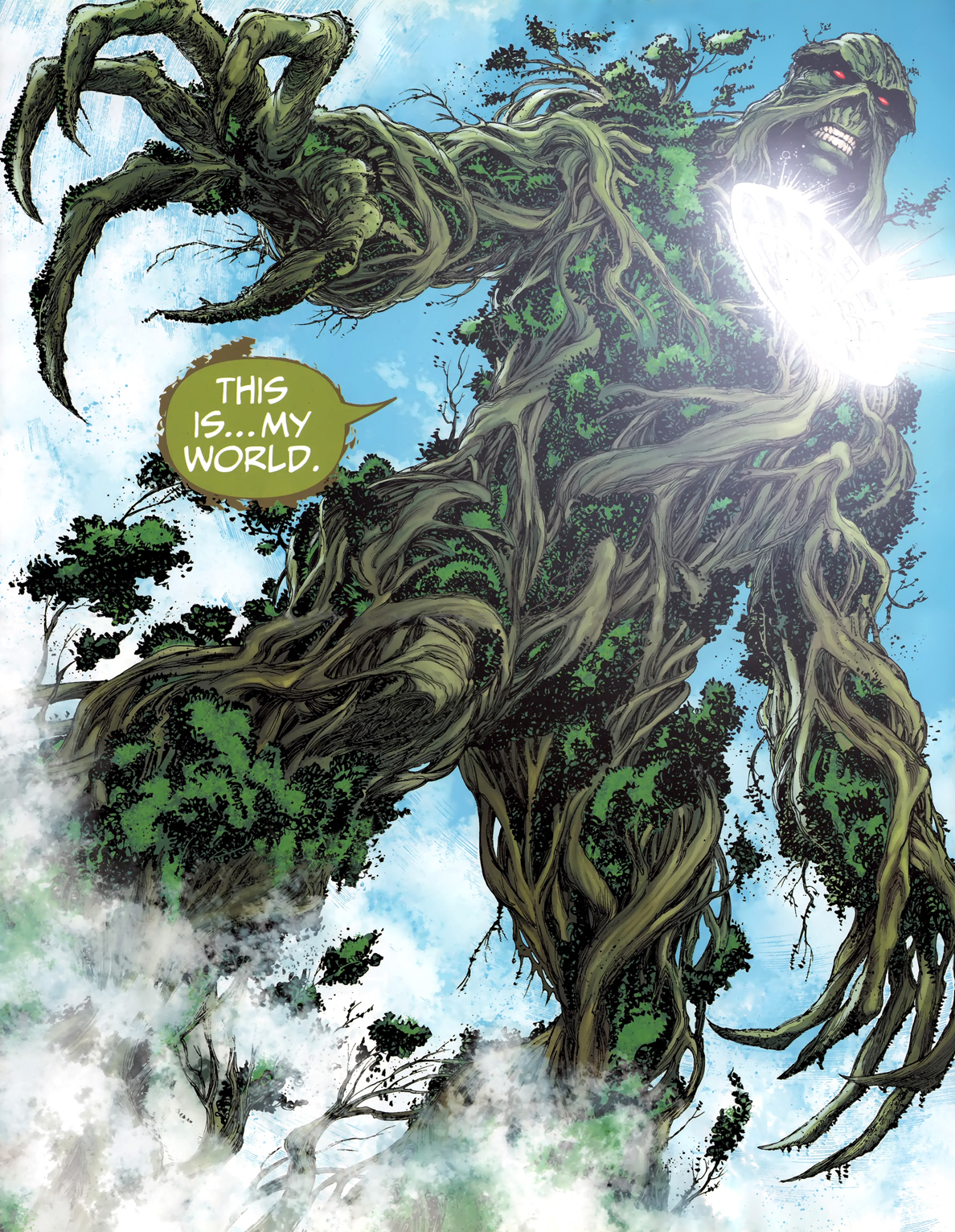 It's A Dan's World: PANEL OF THE BRIGHTEST DAY #24: Swampy ...