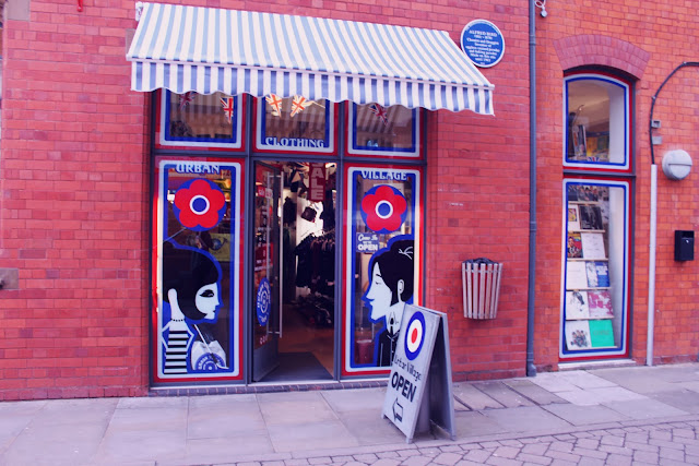 Urban Village Vintage Retro Shop Custard Factory Birmingham