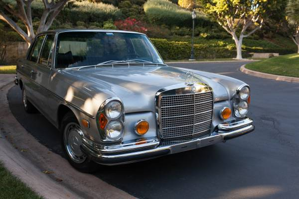 Daily turismo aristobarge 1970 mercedes benz 280se w108 for Mercedes benz w108 for sale