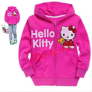 Model Jaket Hello Kitty Anak Perempuan Terbaru