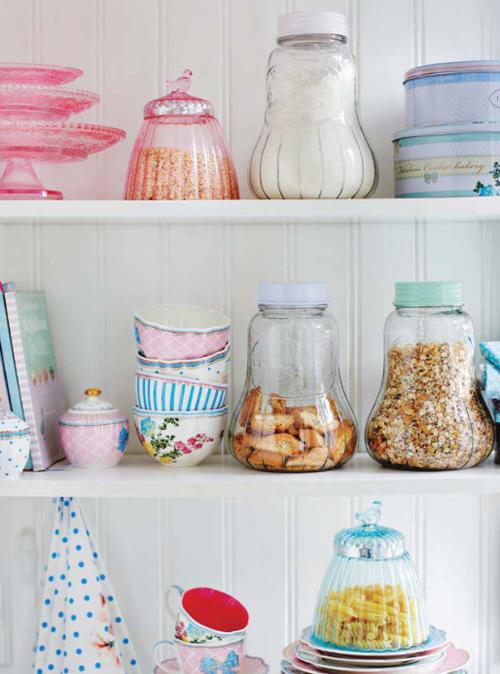 Pantry+shelves+Lisbeth+Dahl+Spring+Summer+2013 Lisbeth Dahl Spring Summer 2013