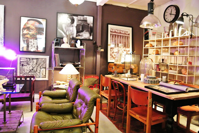 The best vintage interior shop of Stockholm Dusty Deco