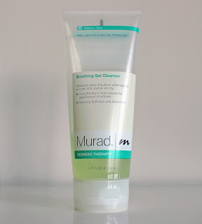 MURAD skincare soothing gel cleanser review photos pictures
