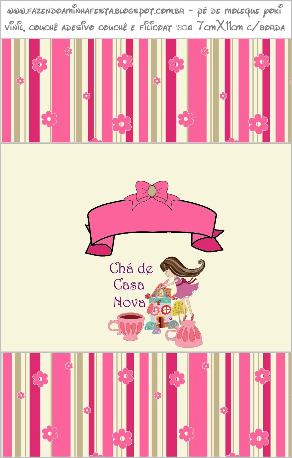 Ch de casa nova kit completo com molduras para convites for Cama quinsay