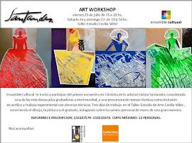 Art Workshop de Cristina Santander