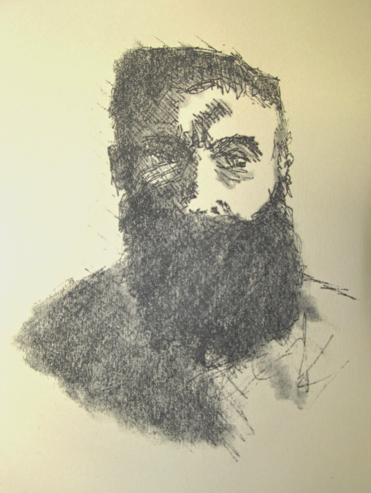 Rodin After Rodin Intaglio Etching 1979 F. Lennox Campello