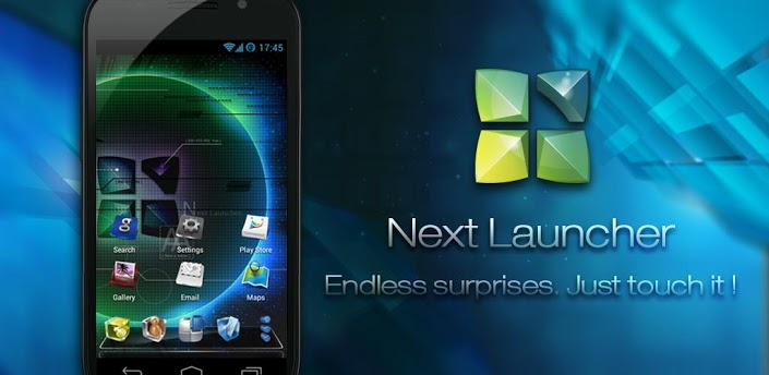 Next Launcher 3D Apk Free Download