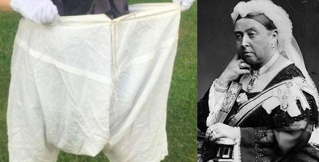 Celana Dalam Ratu Victoria