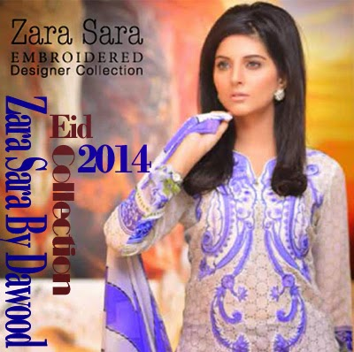 Zara Sara Eid Collection 2014
