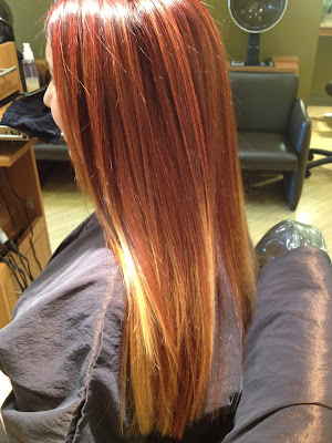 Studio Booth, Pittsburgh, salon, salon and spa directory, red hair, ombre hair, hair color, haircolor, colorist, hairstylist, hair stylist, best Pittsburgh salons