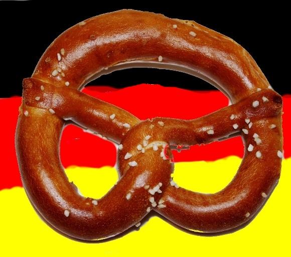 Comic in German · click the pretzel: