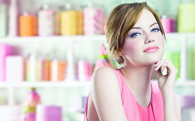 Emma Stone HD Wallpapers - Pink