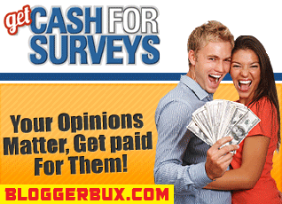 BloggerBux 50 ways to make money online doing surveys