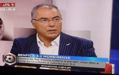 Augusto Inácio admite que vê o Benfica TV na net