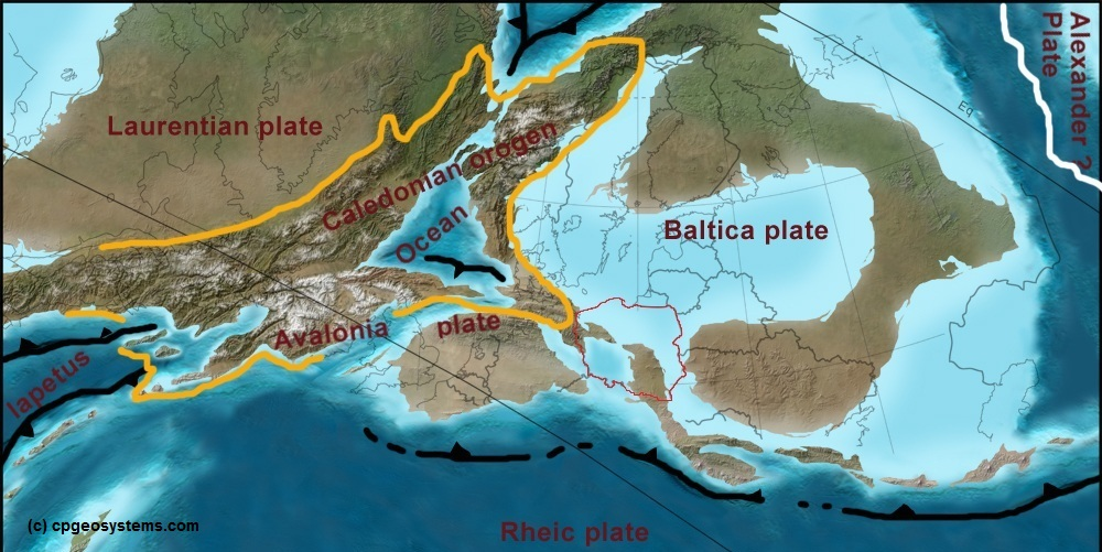 Turbulent Origins Of European Continent on silurian