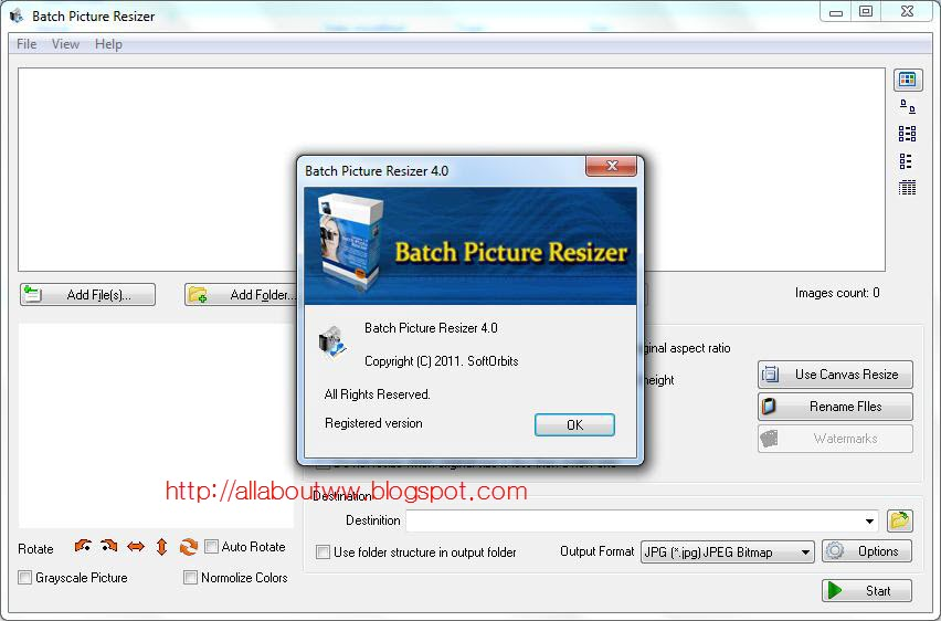 Batch picture resizer 4.0 crack