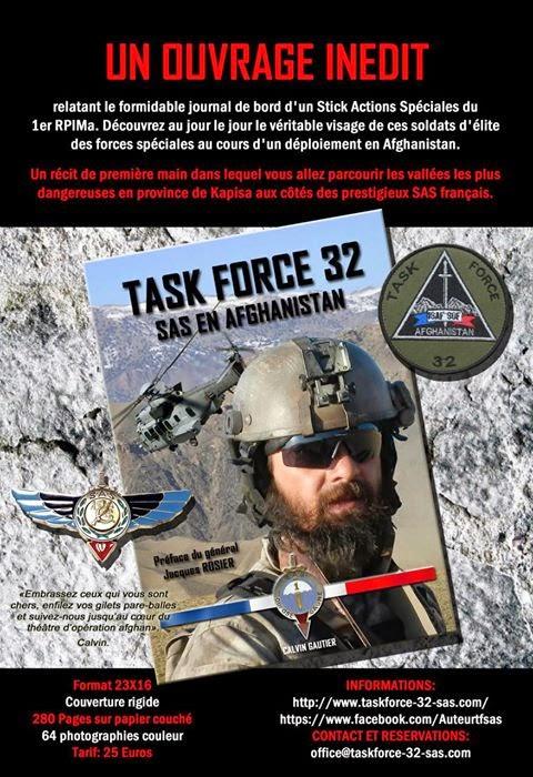 Le livre révélation d'une équipe de forces spéciales du 1er RPIMa en Afghanistan