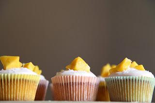 cupcake al cocco e mango