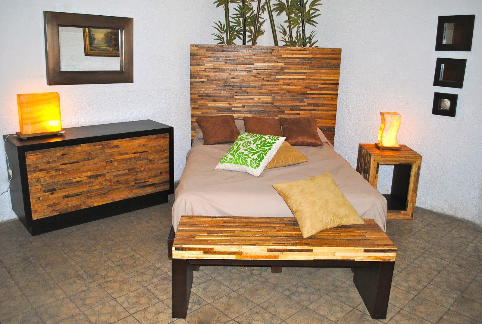 Muebles condesa muebles de madera reciclada for Diseno de muebles de madera