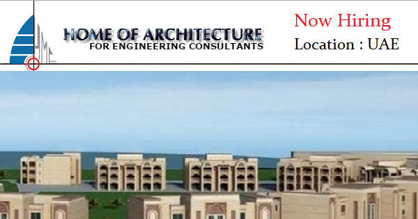 Home of architecture job openings uae for Home of architecture uae