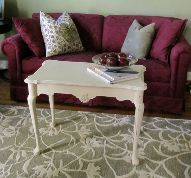 Wydeven Designs Do It Yourself Sofa Table With Annie Sloan Paint
