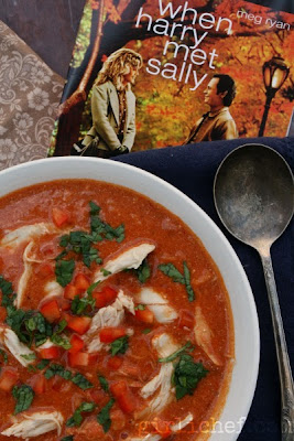 Smoky Chicken Paprikash Soup {inspired by When Harry Met Sally for Food 'n Flix} | www.girlichef.com