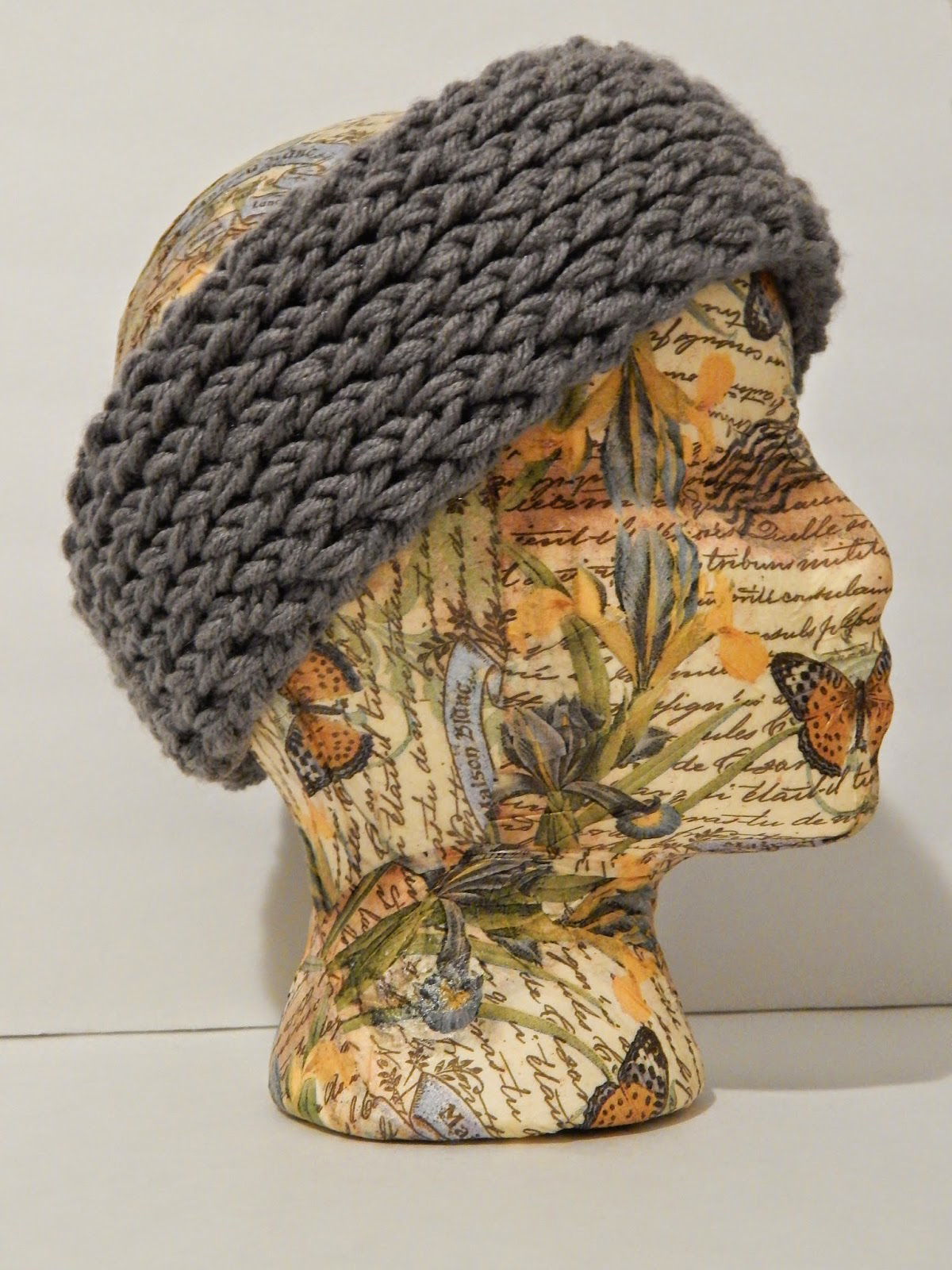 Jovial Knits: Loom Knit Reversible Super Chunky Headband