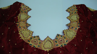 bridal work blouse