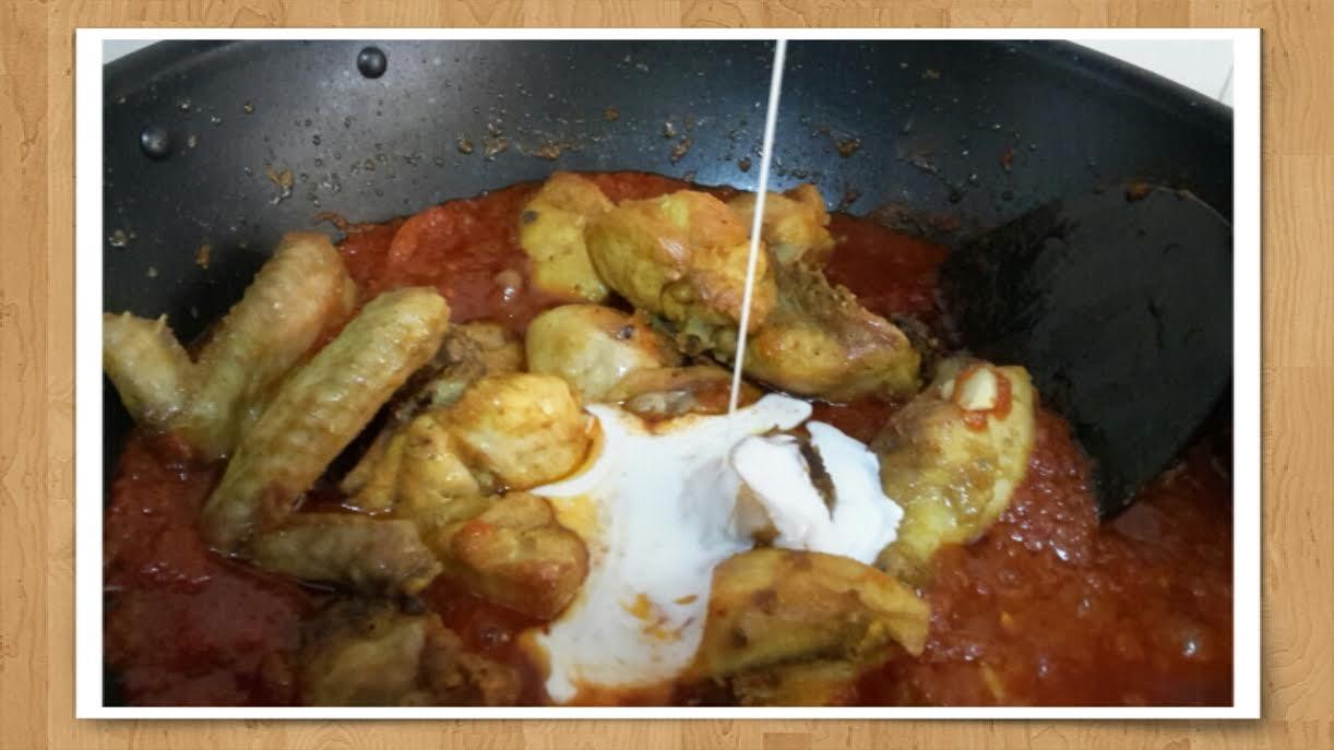 Resepi Ayam Masak Merah Menggunakan Tomato Puri