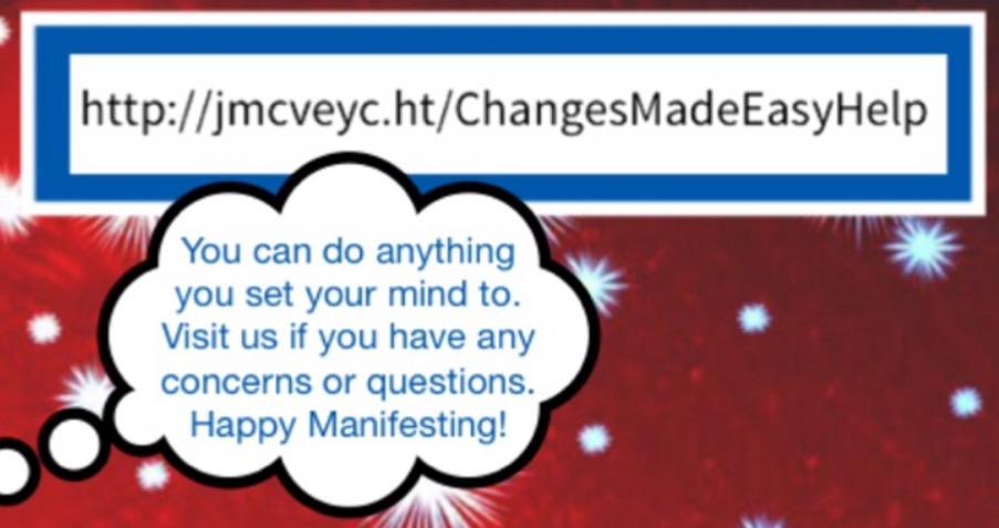 Manifesting Help
