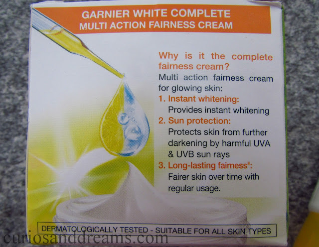 Garnier White Complete Speed White review, Garnier White Complete Speed White  face wash review, Garnier White Complete Speed White cream review