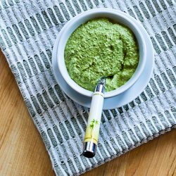 Recipe for Basil, Arugula, Scallion, and Lemon Pesto Sauce for Grilled ...