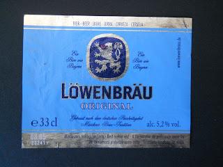 cerveza alemana lowenbrau original