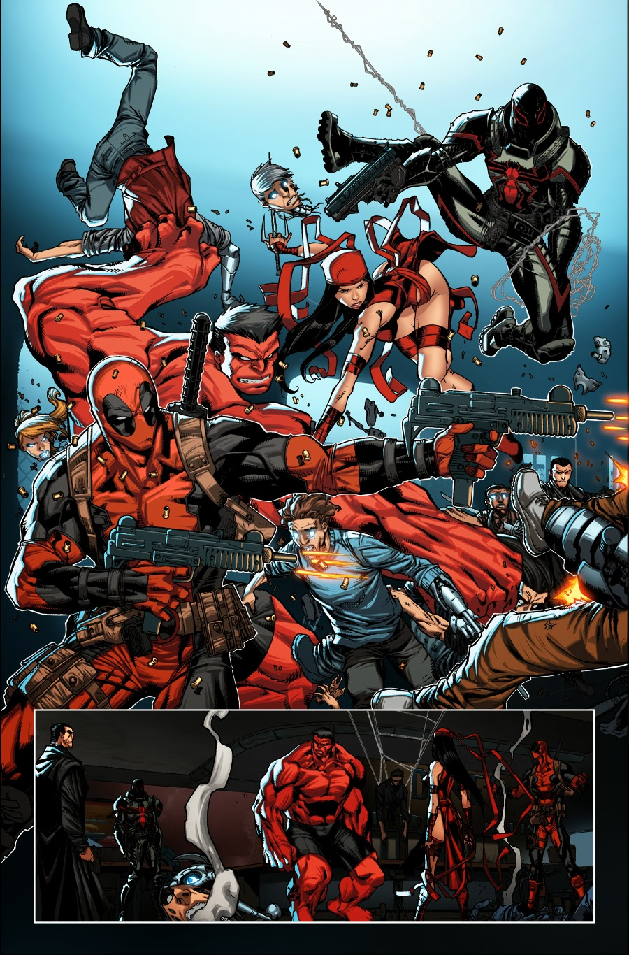 first look at thunderbolts 20now deadpool bugle