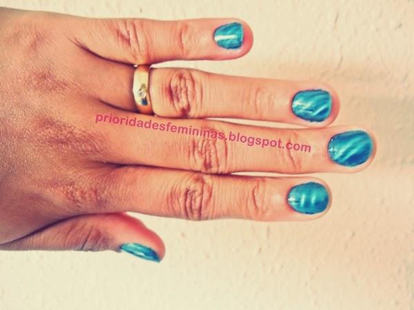 nail art azul,